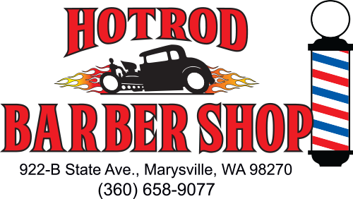 HotRod Barber Shop logo