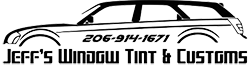Jeff's Window Tint & Customs logo