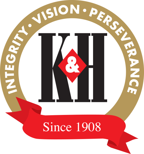 K&H Integrated Print Solutions logo