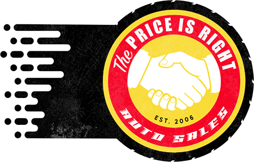 The Price Is Right Auto Sales logo